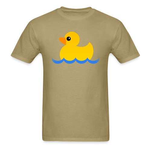 Hubs by Mozilla Duck in water - Men's T-Shirt