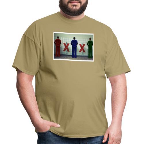 Male Restroom Etiquette: Critical Mass - Men's T-Shirt