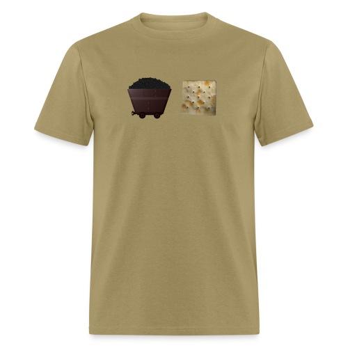 coalcrackr png - Men's T-Shirt