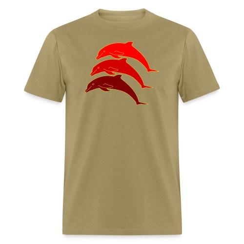 dolphins - Men's T-Shirt