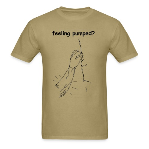 feeling pumped highball - Men's T-Shirt