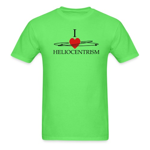 heliocentrism02 - Men's T-Shirt