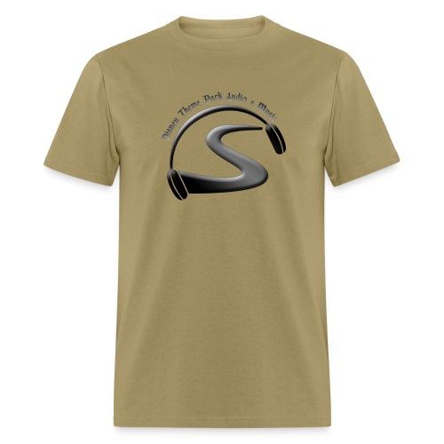 logo black on black - Men's T-Shirt