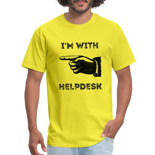 I'm With Helpdesk - Men's T-Shirt