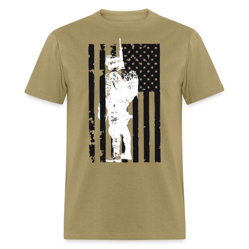 SOLDIER FLAG - Men's T-Shirt