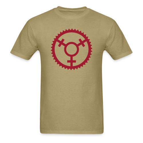 Mountain Bike for Her Chainring - Men's T-Shirt