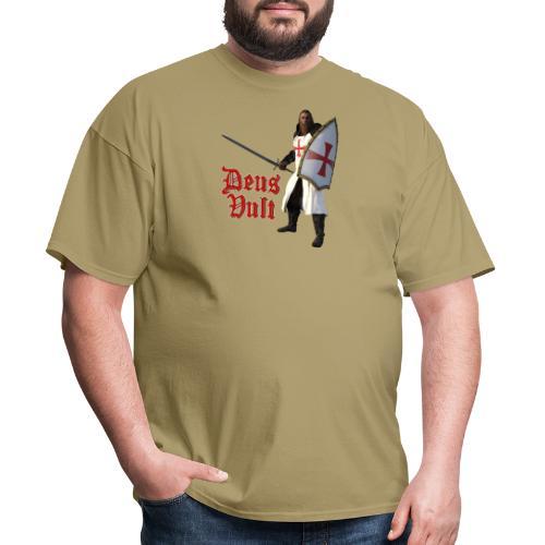 Crusader Deux Vult - Men's T-Shirt