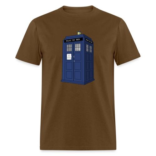 blue call box - Men's T-Shirt