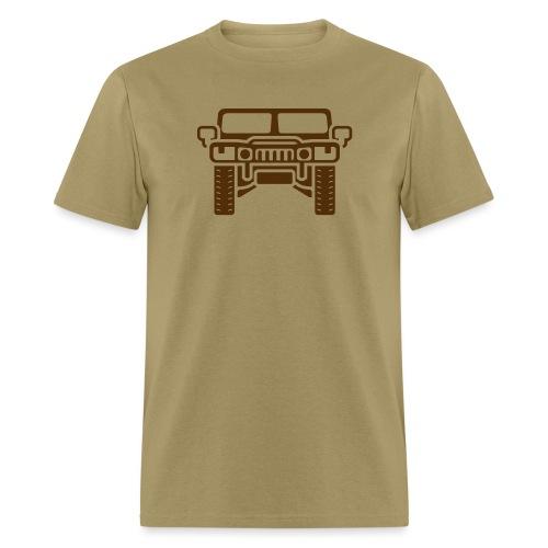 Hummer/Humvee illustration - Men's T-Shirt