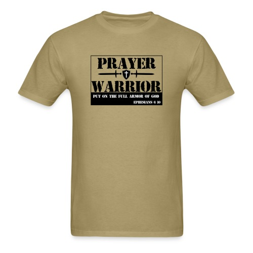 Prayer warrior - Men's T-Shirt