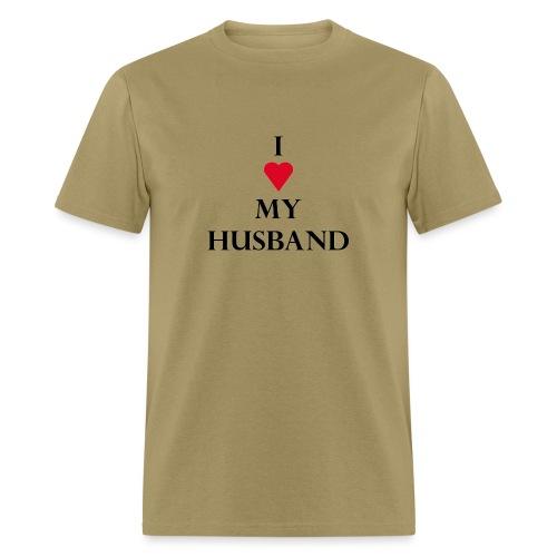 I Husband - Men's T-Shirt