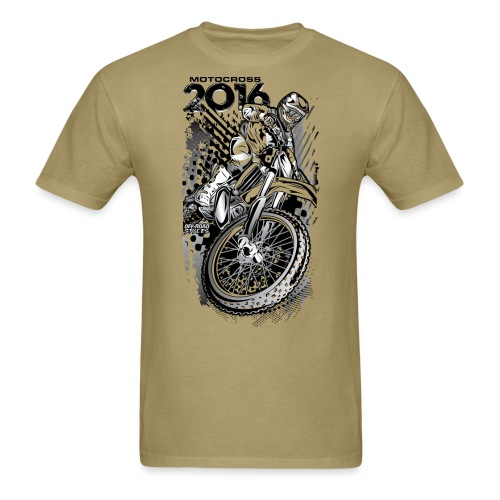 Motocross 2016 Shirt - Men's T-Shirt