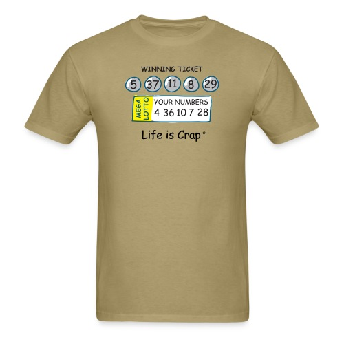 lic670 lotto b - Men's T-Shirt