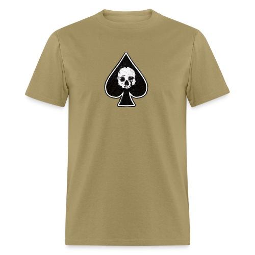 Ace of Spades skull rock - Men's T-Shirt