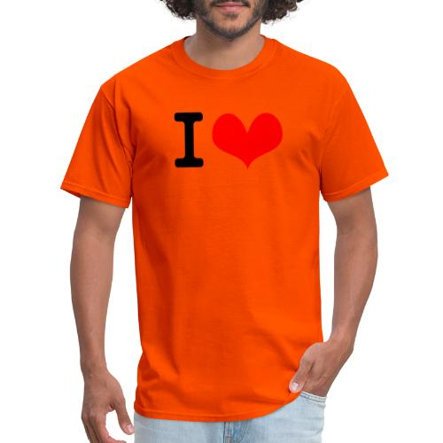 I Love what - Men's T-Shirt
