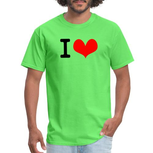 I Love what - Men's T-Shirt