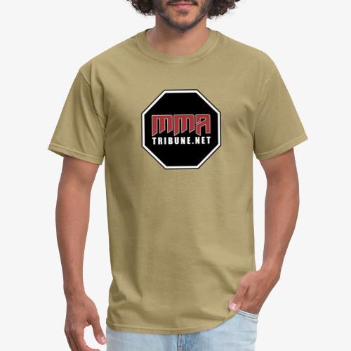 MMATribune.net Octagon logo - Men's T-Shirt
