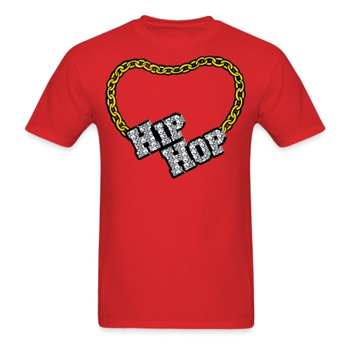 Hip Hop Bling - Men's T-Shirt