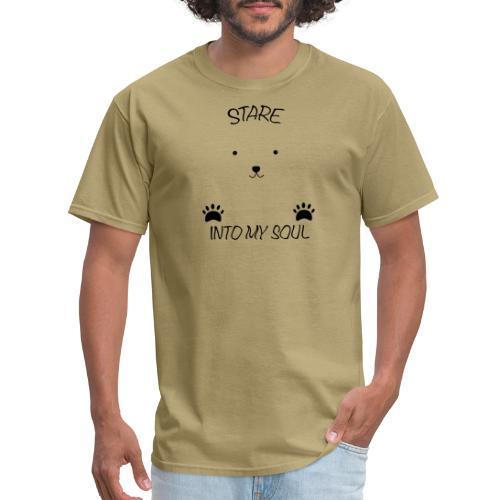 Polar Bear Stare - Men's T-Shirt