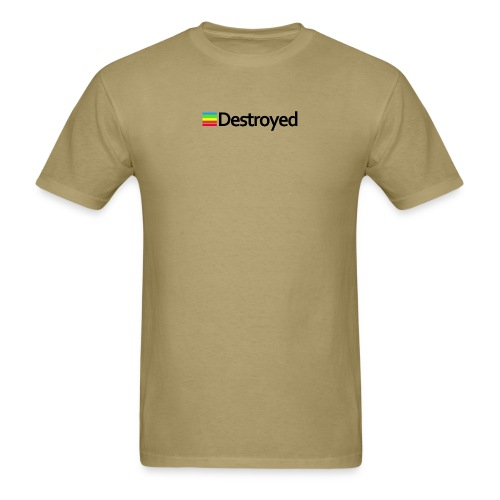Polaroid Destroyed - Men's T-Shirt