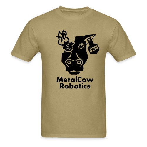 MetalCow Solid - Men's T-Shirt