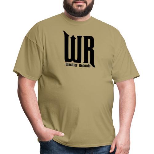 Wachler Records Dark Logo - Men's T-Shirt