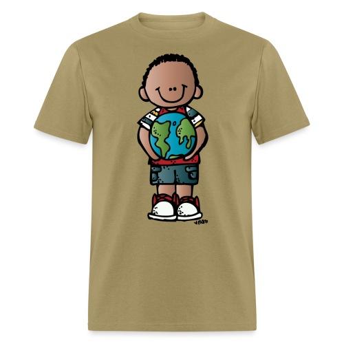 boy c melonheadz 13 colored png - Men's T-Shirt