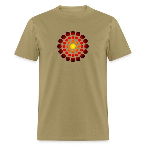 campfire symbol - Men's T-Shirt