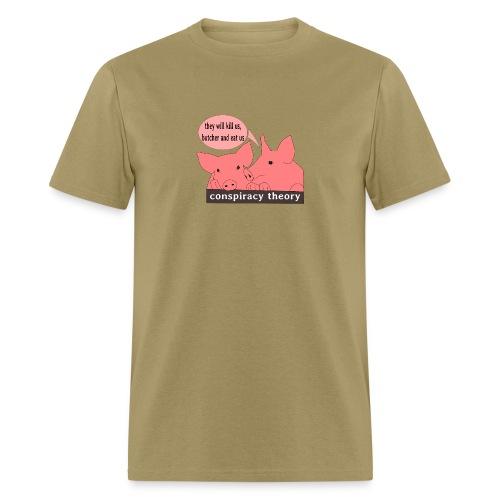 conspiracy theory - Men's T-Shirt