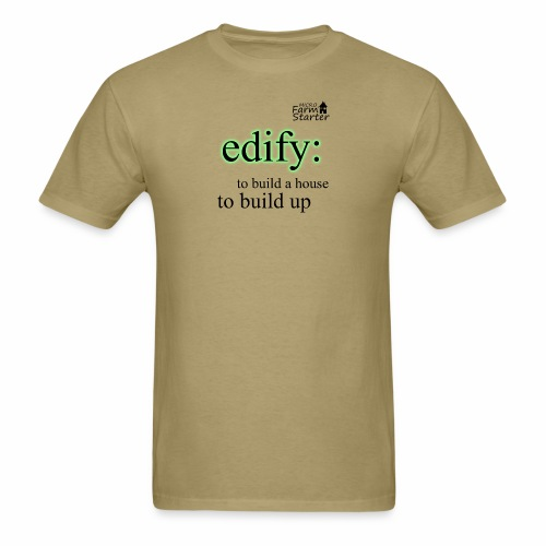edify Micro Farm Starter - Men's T-Shirt