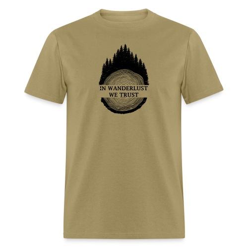 In Wanderlust We Trust - Men's T-Shirt