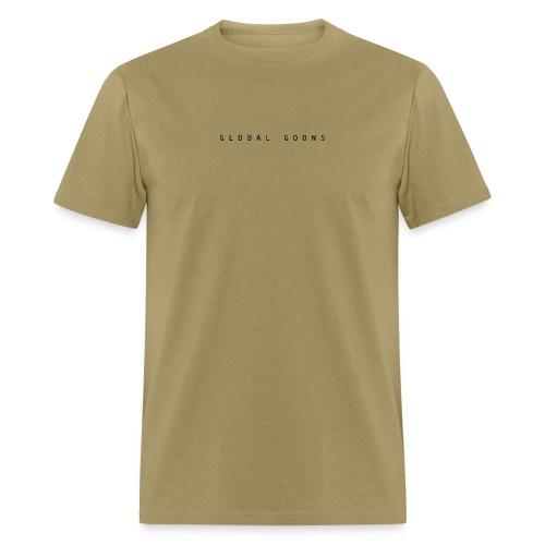 G L O B A L G O O N S (front and back) - Men's T-Shirt