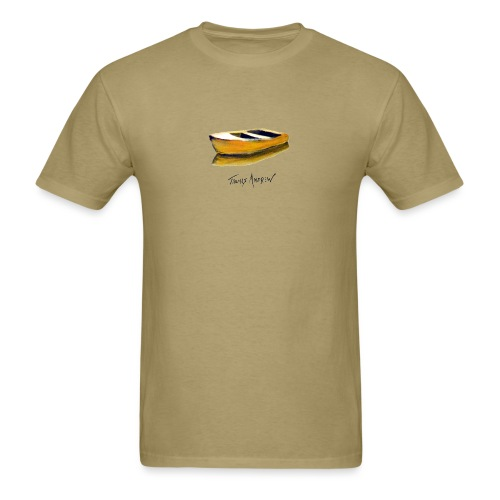 Yellow Boat Tshirt design5 - Men's T-Shirt