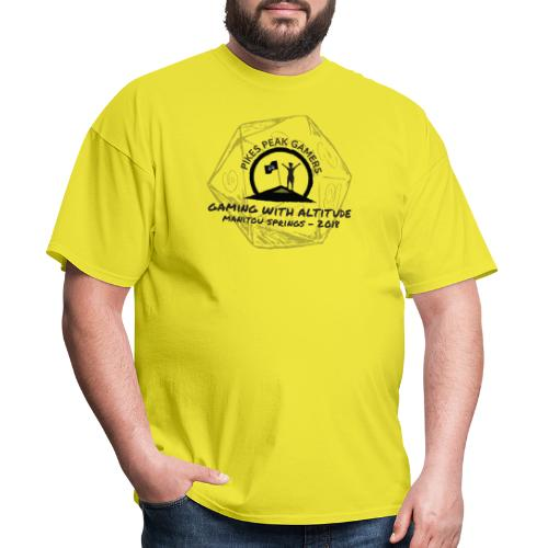 Pikes Peak Gamers Convention 2018 - Clothing - Men's T-Shirt