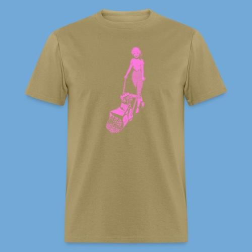 Roto-Hoe pink. - Men's T-Shirt