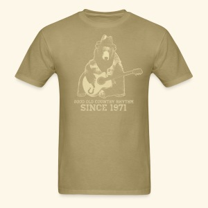 Good Old Country Rhythm - Men's T-Shirt