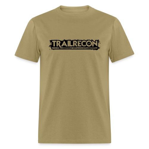 Handover Logo Trailrecon Black trimmed - Men's T-Shirt