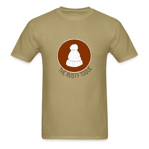 The Rusty Toque Brown Logo 2 - Men's T-Shirt