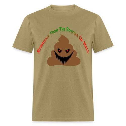 Evil Poo - Men's T-Shirt