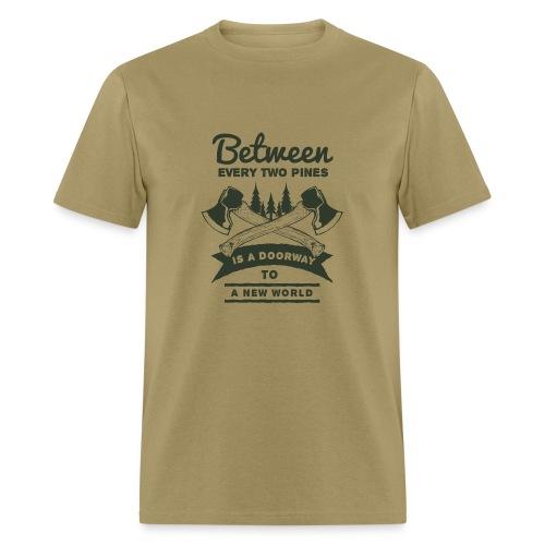 A New World Outdoor Activity Forest T-Shirt - Men's T-Shirt