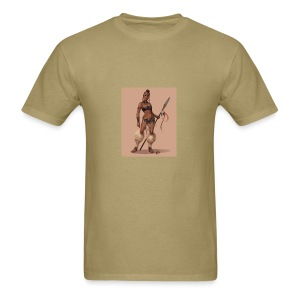 Female Warrior - Men's T-Shirt