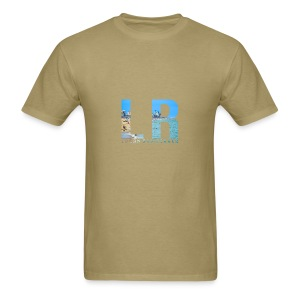 Beach LR Logo - Men's T-Shirt