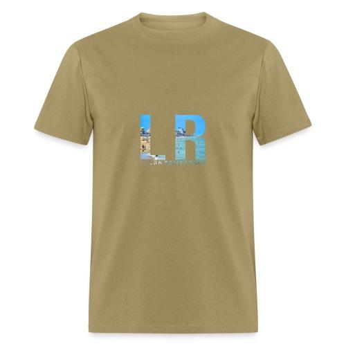 Beach LR Logo - Men's T-Shirt