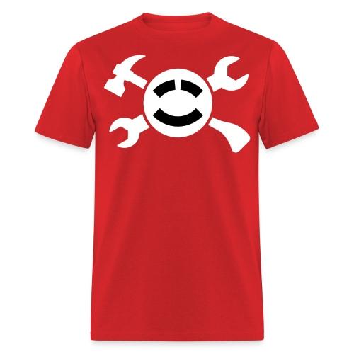 ABCLogoWhite - Men's T-Shirt