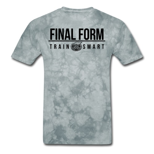 final form logo train smart black png - Men's T-Shirt