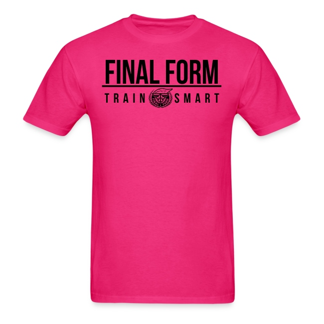 final form logo train smart black png