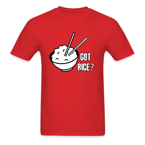 got rice shirt - Men's T-Shirt