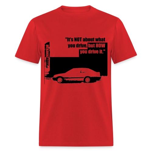 Addik Silouhette black 1 - Men's T-Shirt