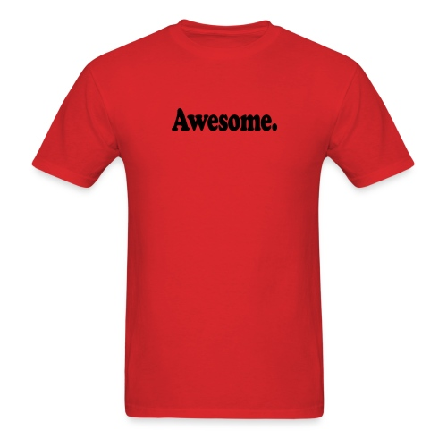 Awesome black png - Men's T-Shirt