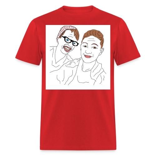 MrOrangizzDrawing jpg - Men's T-Shirt